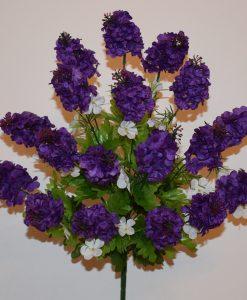 Искусственные цветы-Сирень 18 голов R-638