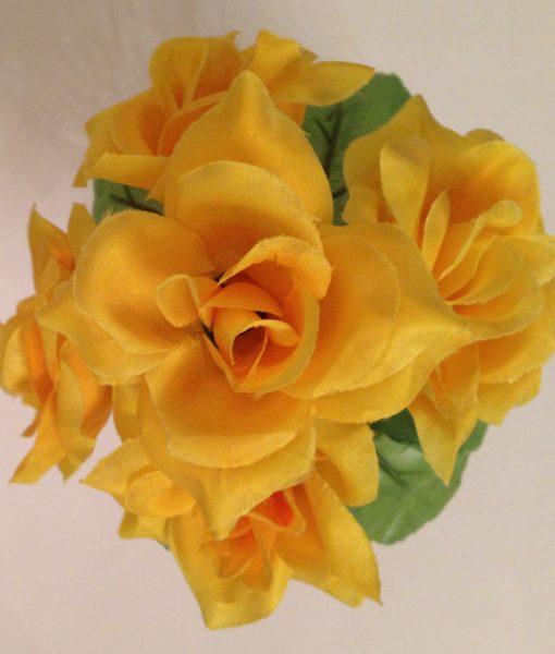 Искусственный цветок — Роза заливка Z-17