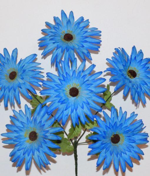 Искусственные цветы-Астра сеченая 6-ка R-68