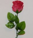 Искусственные цветы- Ветка Роза бутон атласный B-60