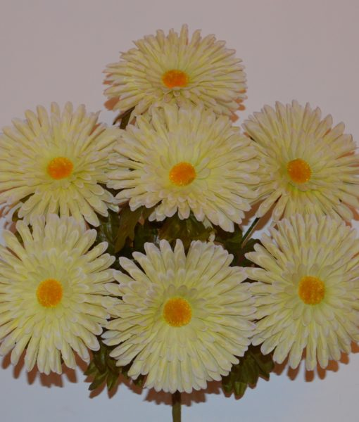 Искусственные цветы Ромашка-гербера большая R-63