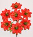 Искусственный цветок - атлас с твердой серединой R-27