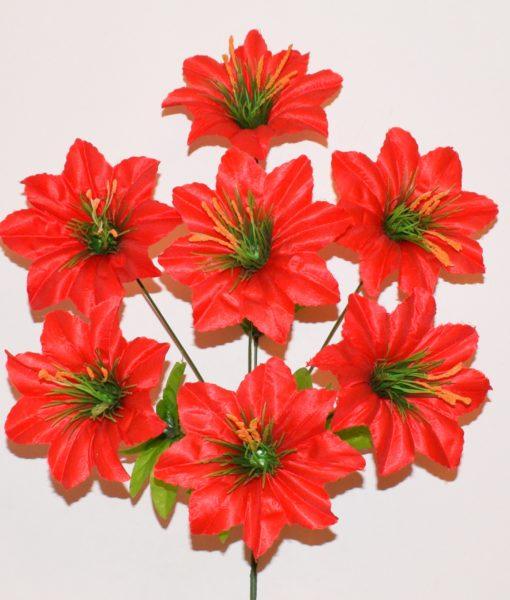 Искусственный цветок — атлас с твердой серединой R-27