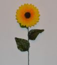 Искусственные цветы Ветка Подсолнух малый B-9