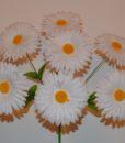 Искусственные цветы Ромашка 7-ка R-90