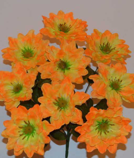 Искусственные цветы Лотос золото R-98