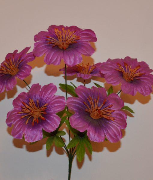 Искусственные цветы атлас 6-ка R-113