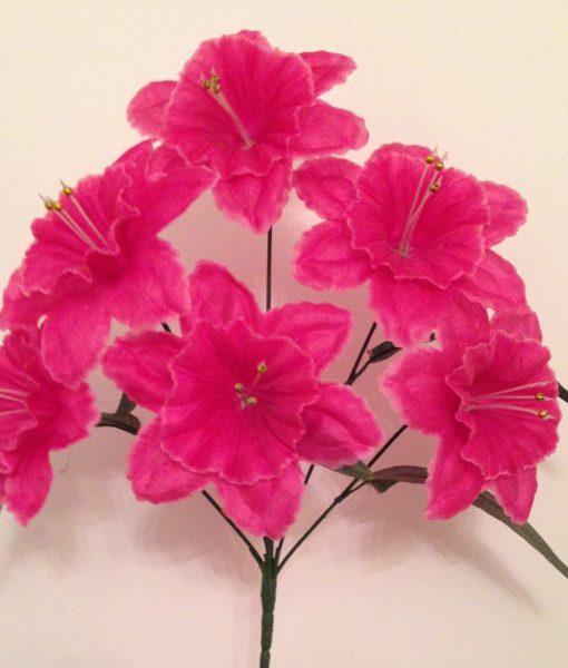 Искусственные цветы Атлас нарцис K-8