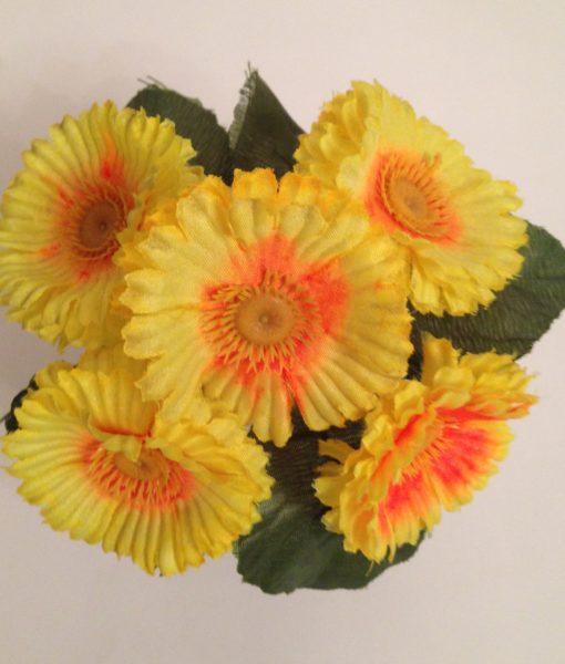Искусственные цветы Заливка маргаритка крупная Z-4
