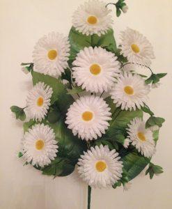 Искусственные цветы Односторонка ромашка O-5