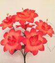 Искусственные цветы Дешевка бусинка 6-ка R-15