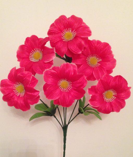 Искусственные цветы Дешевка ромашка R-107