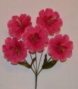 Искусственные цветы-Дешовка 5-ка с тычинкой R-741