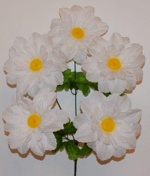Искусственные цветы-Астра с пластмасовой срединой 5-ка R-247