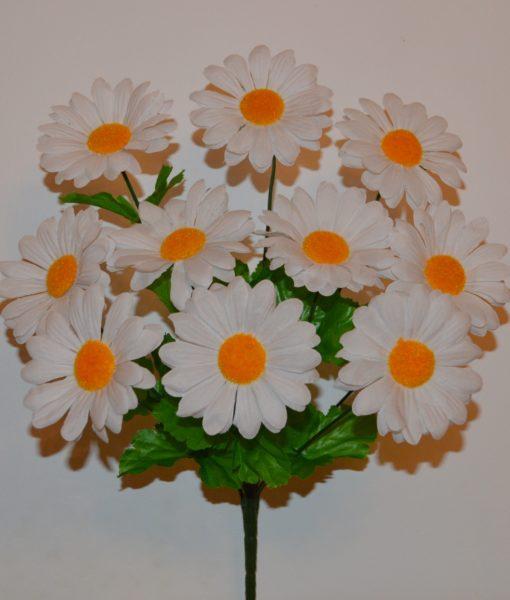 Искусственный цветок -Ромашка натуральная 10-ка R-177