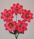 Искусственный цветок - звездочка- острая 5-ка R-675