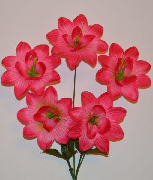 Искусственный цветок — звездочка- острая 5-ка R-675