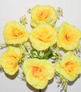 Искусственный цветок — Роза с пластмаской R-180