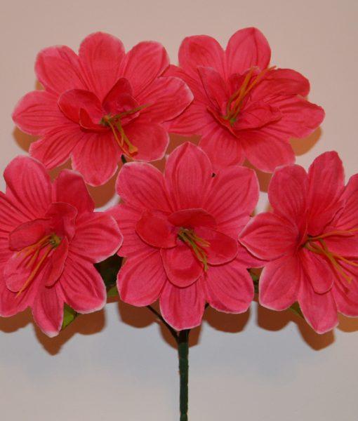 Искусственные цветы-Острая рыжая средина 5-ка R-243