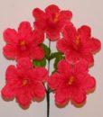 Искусственные цветы — Дешевка мальва выбитая R-239