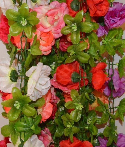 Искусственные цветы Цепочка роза крупная С-10