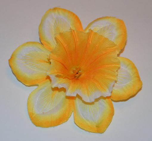 Искусственные цветы Головка нарцис радуга G-20