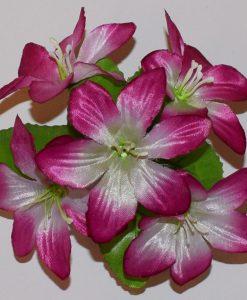 Искусственный цветок -Лилийка с пластмаской Z-28