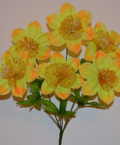 Искусственные цветы звезда-соты R-160