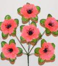 Искусственные цветы-Мачок с пластмасовой срединой R-225