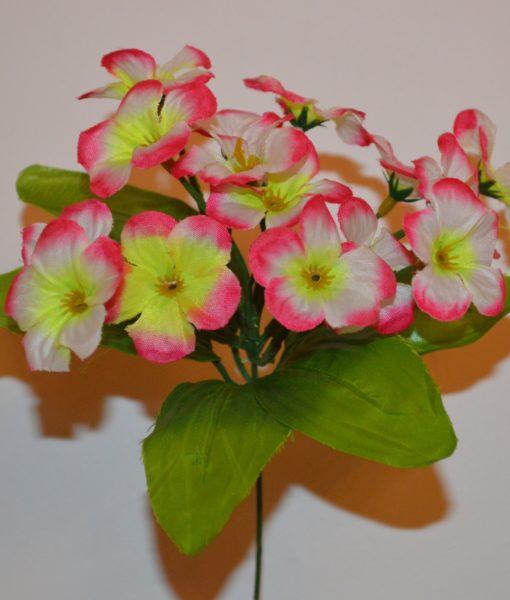 Искусственный цветок — прымулка-заливка Z-19