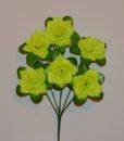 Искусственные цветы Розочка 6-ка R-202