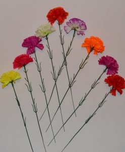Искусственные цветы- ветка Гвоздичка B-21