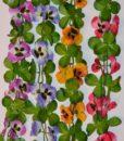 Искусственные цветы Цепочка анюткины глазки С-14