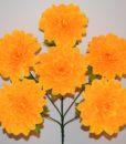 Искусственные цветы-Георгина крупна 6-ка R-286