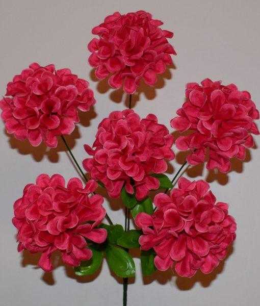 Искусственные цветы-Калинка пышна 6-ка R-307