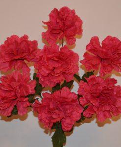 Искусственные цветы-Мальва открытая R-295