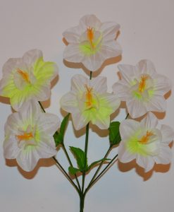Искусственные цветы-дешевка мальва с кукурузкой R-298