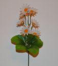 Искусственные цветы- заливка ромашка каскадная Z-35