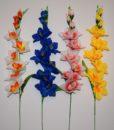 Искусственные цветы-Ветка гладиолуса 9-ка B-29
