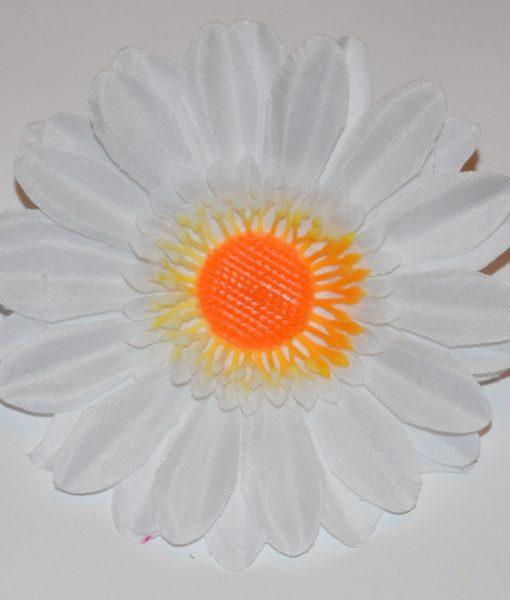 Искусственные цветы Головка ромашка атласна G-16