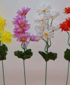 Искусственные цветы-Ветка ромашка 7-ка B-31Искусственные цветы-Ветка ромашка 7-ка B-31