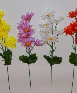 Искусственные цветы-Ветка ромашка 7-ка B-31