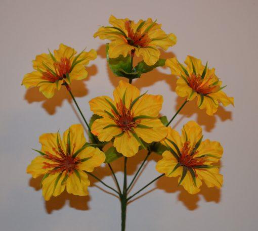 Искусственные цветы-Звездочка с сотами R-276