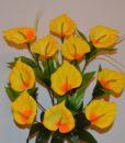 Искусственные цветы-Кала 11-ка цветная R-303