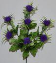 Искусственные цветы —Ежик пластмасовый 7-ка R-354