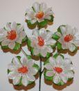 Искусственные цветы —Крокус с листочком 6-ка R-362