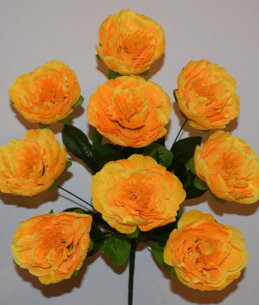 Искусственные цветы —Пион атласный 9-ка R-355