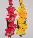 Искусственные цветы- Ветка Нарцис с бусинкой B-39