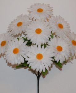 Искусственные цветы —Ромашка разноцветная 9-ка R-383