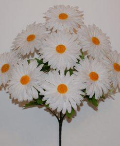Искусственные цветы —Ромашка разноцветная 9-ка R-856